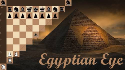 Persian Chess variant: Egyptian Eye