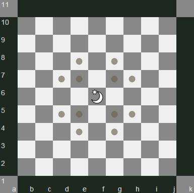 Omega chess Wizard movement